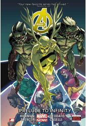 Avengers 3: Prelude to Infinity (Marvel Now)