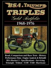 Bsa and Triumph Triples: Gold Portfolio 1968-1976