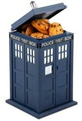 Doctor Who - TARDIS - Talking Cookie Jar