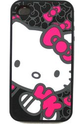 Hello Kitty - iPhone 4 Silicone Case