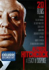 Alfred Hitchcock: A Legacy of Suspense (4-DVD)
