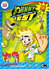 Johnny Test - Complete Seasons 3-4 (4-DVD)