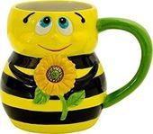 Bee - 16 oz. Earthenware Mug