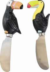 Toucans - Set of Two Spreaders