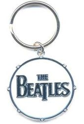 The Beatles - Drum Head Logo Keychain