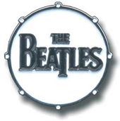 The Beatles - Drum Logo: Medium Metal/Enamel Pin