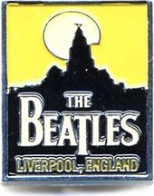 The Beatles - Liverpool England Metal Pin