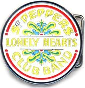 The Beatles - Sgt. Peppers Drum Head Belt Buckle