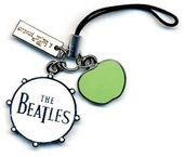 The Beatles - Drum & Apple Logo: Zipper Charm