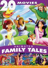 Animated Family Tales: 20 Movies (4-DVD)