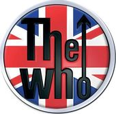 The Who - Union Jack Logo Metal Pin/Badge