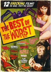 The Best of the Worst: 12 Shocking Films (3-DVD)