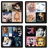 Madonna - 4 Piece Coaster Set