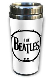 The Beatles - Drum Logo: 16 oz. Thermal Ceramic