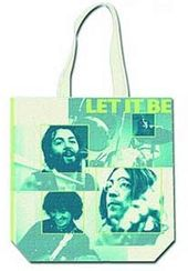 The Beatles - Let It Be: Cotton Zippered Tote Bag