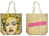 "Madonna - ""Celebration"" Cotton Tote Bag"