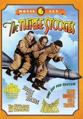 The Three Stooges - 6-Movie Set (Go Around The