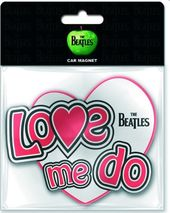 The Beatles - Love Me Do Car Magnet