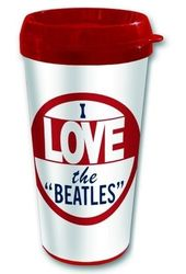 The Beatles - I Love The Beatles: 16 oz. Plastic