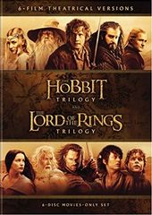 Middle-Earth Theatrical Collection (6-DVD)