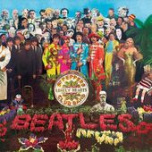 The Beatles - Sgt. Peppers Embossed Steel Wall