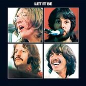 The Beatles - Let It Be Embossed Steel Wall Sign