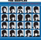 The Beatles - Hard Day's NIght Embossed Steel