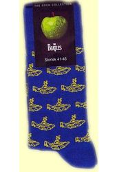 The Beatles - Blue Yellow Submarine Men's Socks
