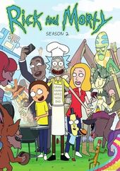 Rick and Morty - Season 2 (2-DVD)