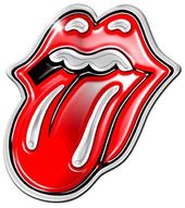 The Rolling Stones - Mini Pin Badge - Tongue