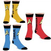 Star Trek - 3-Pack Crew Socks