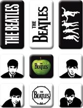 The Beatles - 9 Piece Classic Icons Magnet Set