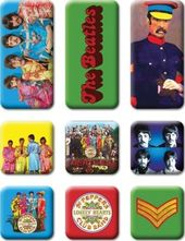 The Beatles - 9 Piece Sgt. Peppers Magnet Set