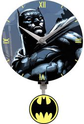 DC Comics - Batman - Mini Pendulum Wall Clock