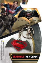 DC Comics - Batman v Superman Logo - Bendable Key