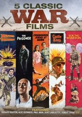 5 Classic War Films (Bitter Victory / The