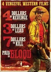 4 Vengeful Western Films (4 Dollars of Revenge /