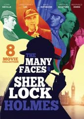 The Many Faces of Sherlock Holmes (3-DVD)