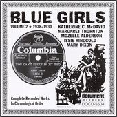 Blue Girls, Volume 2: 1925-1930