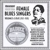 Female Blues Singers, Volume 5: 1921-1928