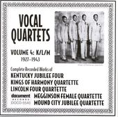 Vocal Quartets, Volume 4: 1927-1943