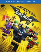 The LEGO Batman Movie 3D (Blu-ray)