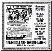 Preachers and Congregations, Volume 5: 1926-1931
