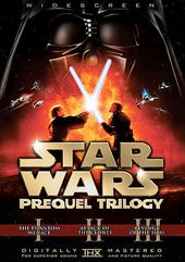 Star Wars Prequel Trilogy (6-DVD, Widescreen)