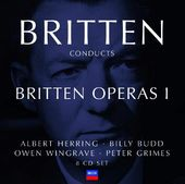 Britten Conducts Britten: Operas, Volume 1 -