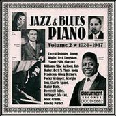 Jazz & Blues Piano, Volume 2: 1924-1947