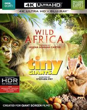 Wild Africa / Tiny Giants (4K Ultra HD Blu-ray,