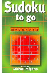 Sudoku: Sudoku to Go: Moderate