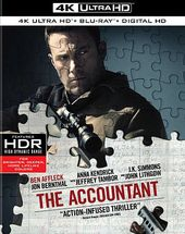 The Accountant (4K Ultra HD Blu-ray, Blu-ray)
