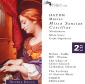Haydn - Great Organ Mass · St. Cecilia Mass ·
